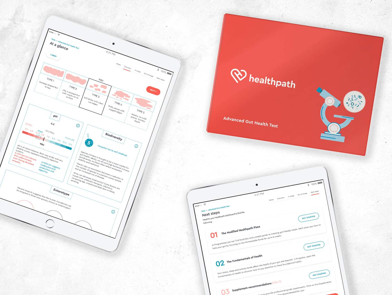advanced gut health test kit