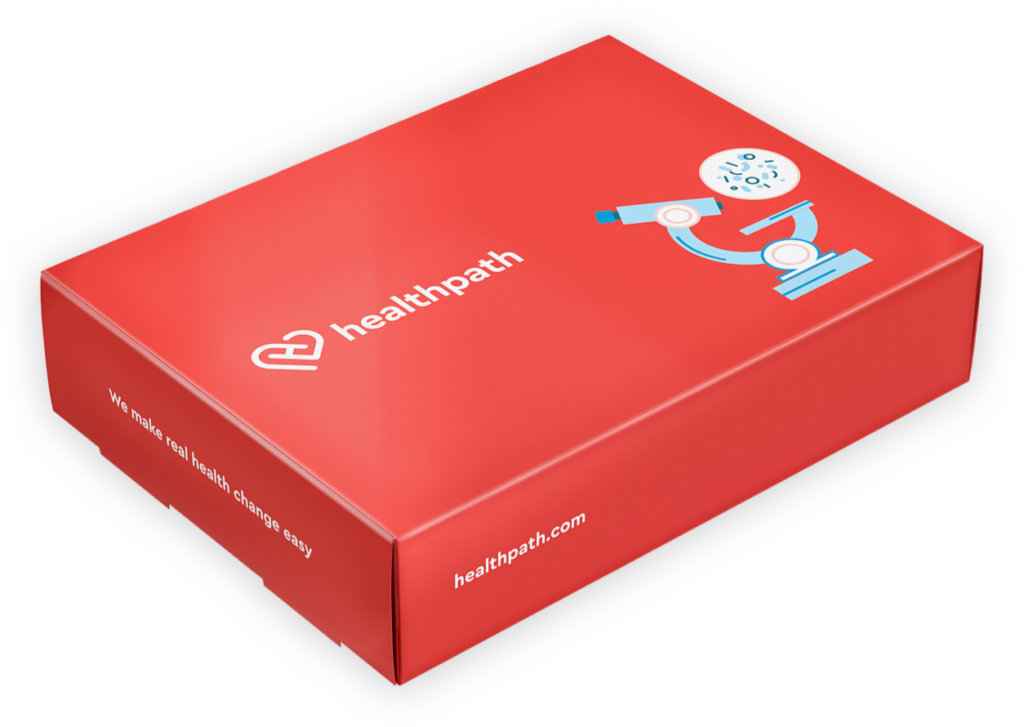 Healthpath advanced gut test kit